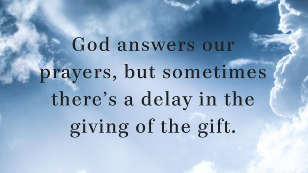 5 reasons god doesn't answer prayer